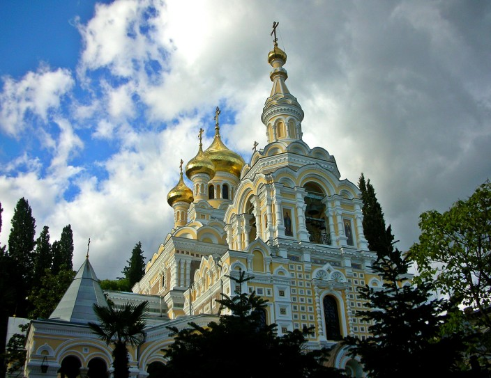 Alexander Nevsky church in Yalta