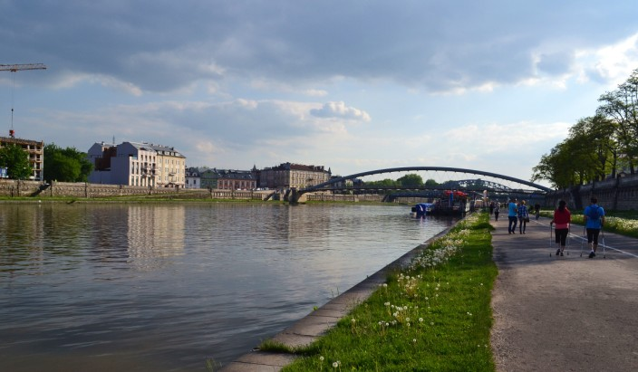 Along the Vistula River