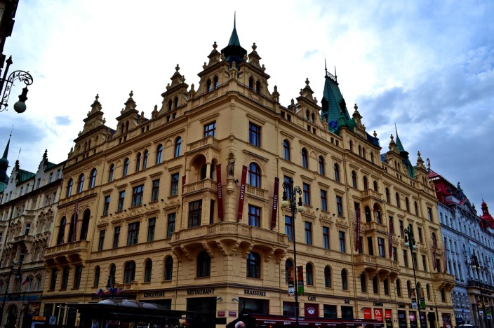 Anywhere you walk in Prague, the architecture is fantastic to view