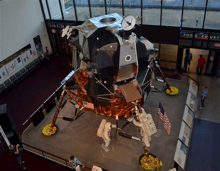 Apollo 11 module in the Air and Space Museum