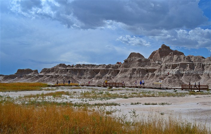 Boardwalk in the Badlands