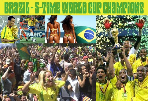 Can Brazil lift trophy #6 in Rio on July 13?
