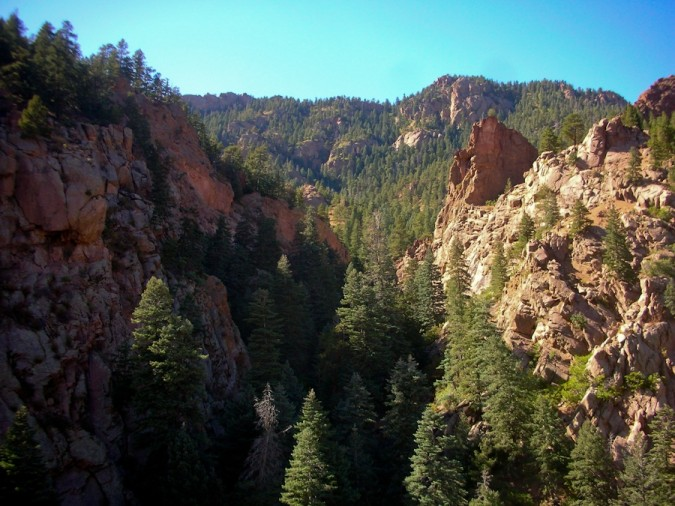 Cheyenne Canyon at Seven Falls, Colorado Springs