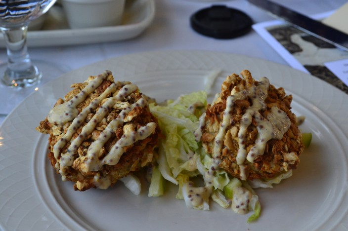 Crab cakes...mmm