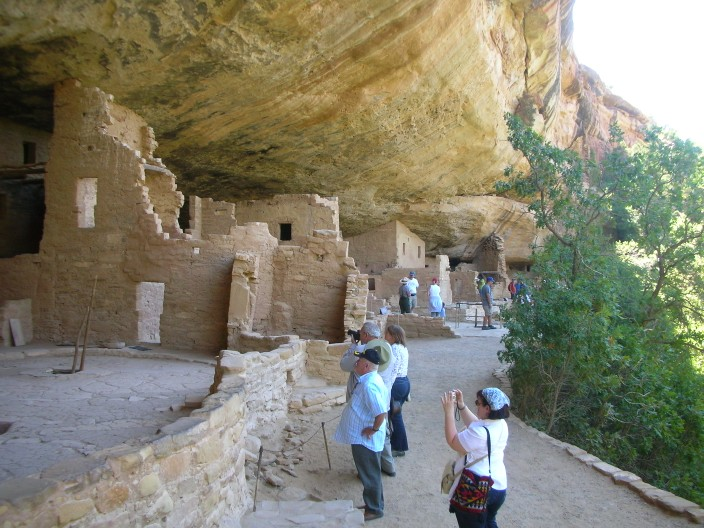 Spruce Tree House, cliff dwelling in Mesa Verde N.P