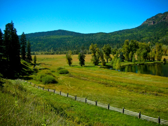Along Highway 160 to Wolf Creek Pass