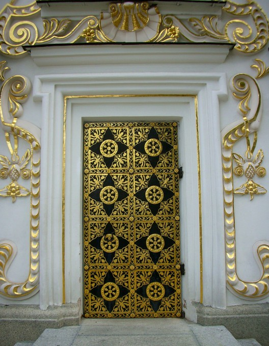 Door detail, Dormition Cathedral