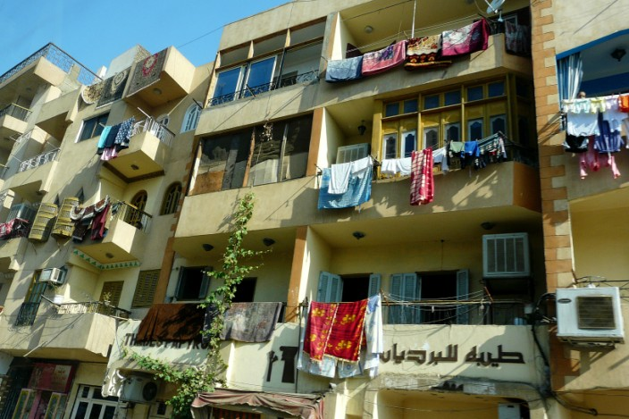 Egyptian clothes dryer