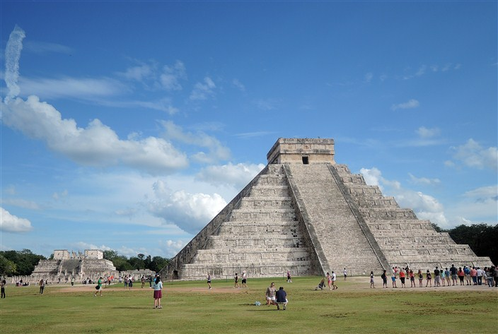 El Castillo, the Temple of Kukulcan in Chichen Itza