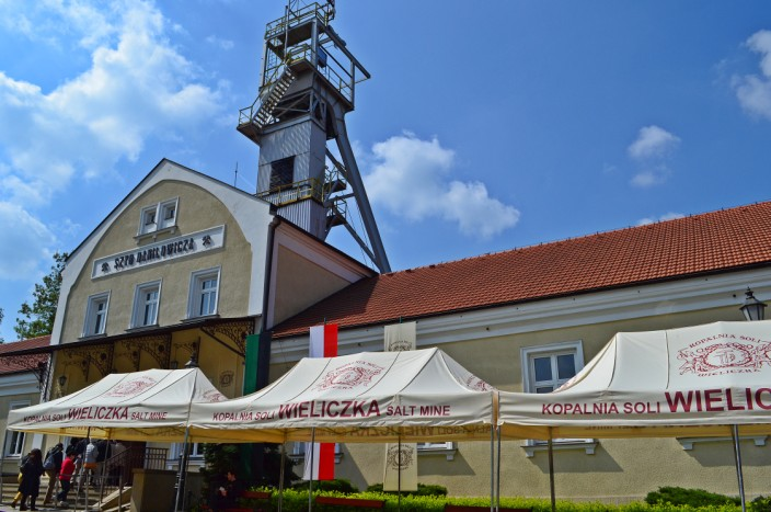Entrance to Wieliczka Salt Mine