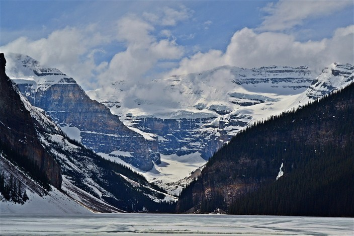 Fabulous glaciers and stunning scenery wherever you look