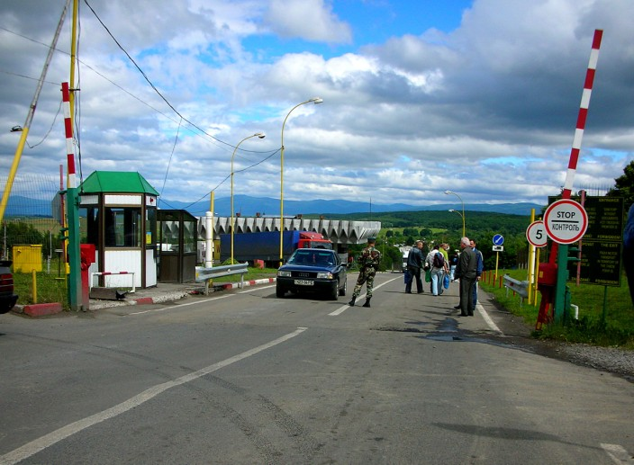 Forbidden photos of Slovakian border crossing