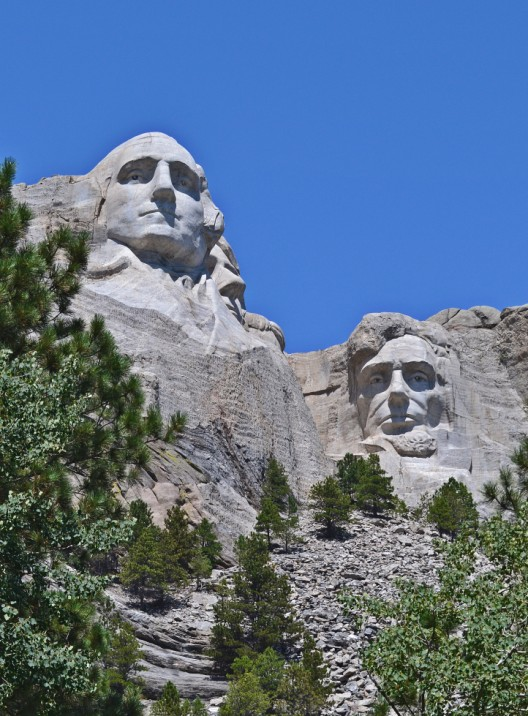 George, Abe, and Tom's nose