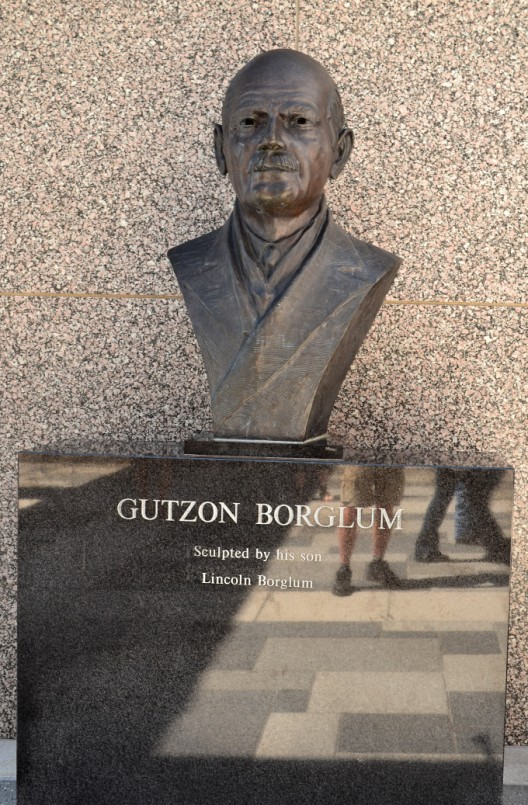 Gutzon Borglum, sculptor of Mount Rushmore