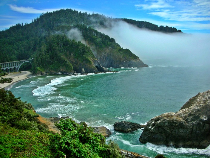 Heceta Head Beach, Oregon coast