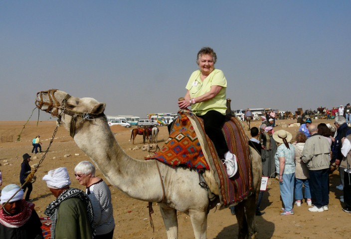 Hi-yo, Silver! The author tames a wild camel