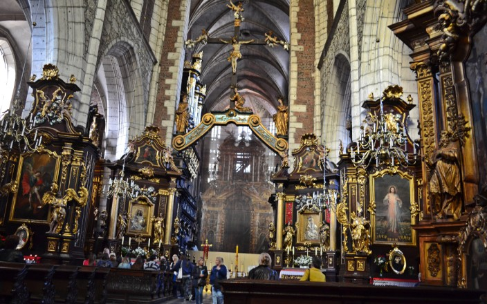 Interior of Corpus Christi church