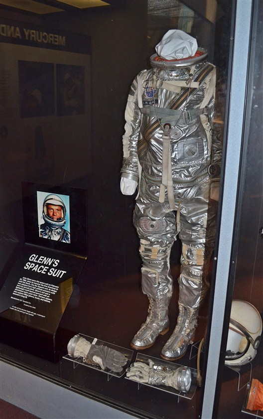 John Glenn's space suit