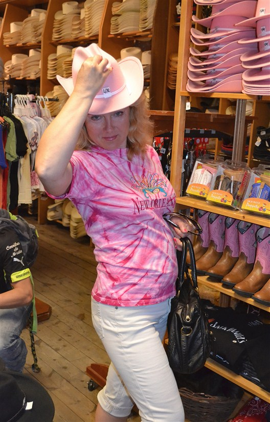 Just another cowgirl in Cowtown