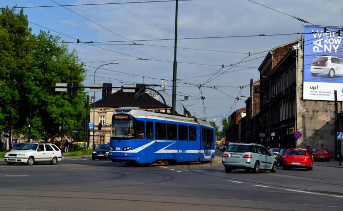 Krakow is well served by its elaborate electric tram system