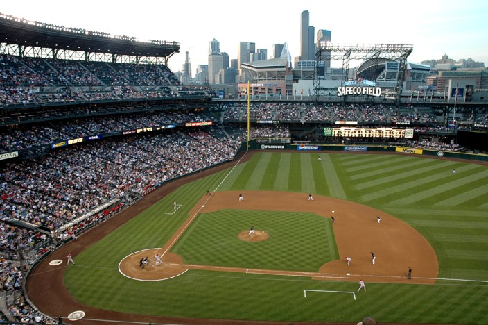 Mariners game at Safeco Field