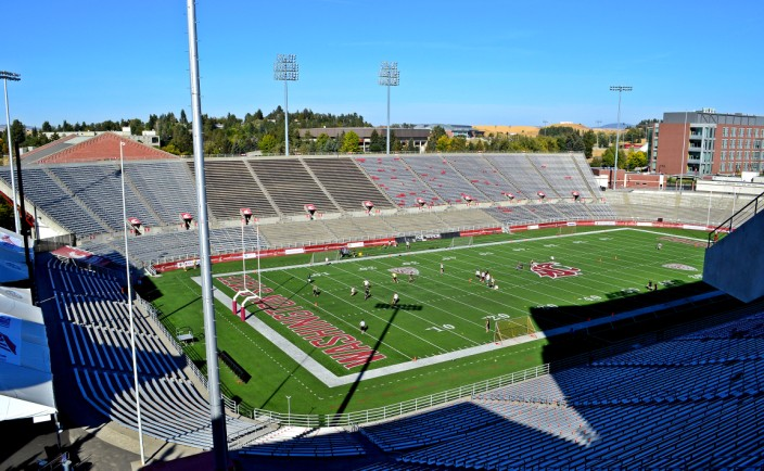 Martin Stadium, home of the Cougars