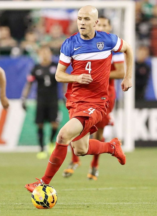 Michael Bradley, USA's midfield general and the link between defense and attack