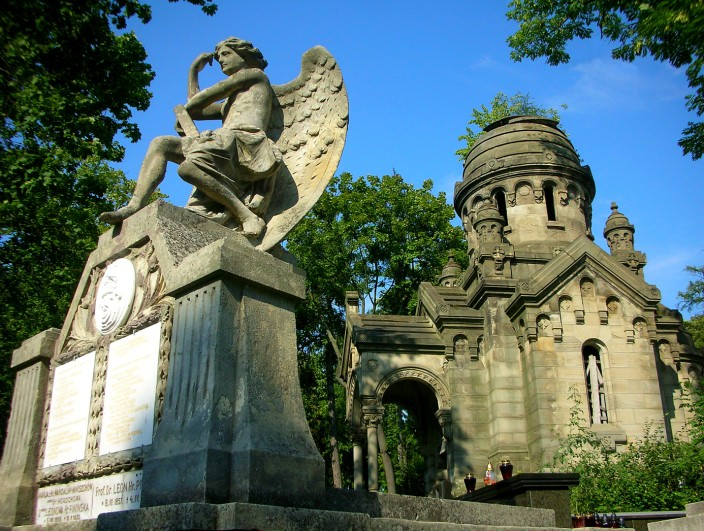 Monuments in Lychakivsky Cemetery, Lviv