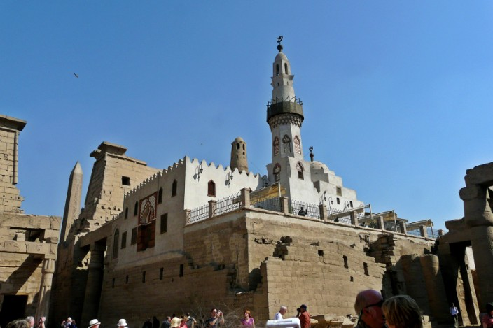 Mosque of Luxor Temple
