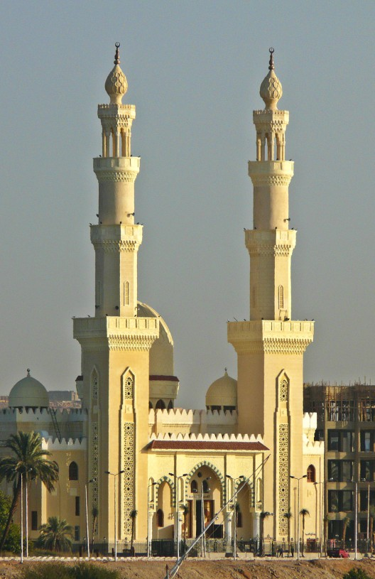 Mosques are numerous and varied in design