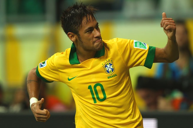 Neymar leads the attack for Brazil - will the weight of expectation be too much to handle?