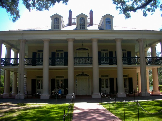 Oak Alley Plantation, Vacherie, Louisiana. The Mansion House