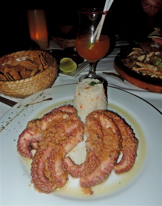 Octopus for dinner, anyone?