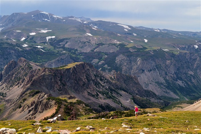 On the Beartooth Highway near 11,000 feet elevation