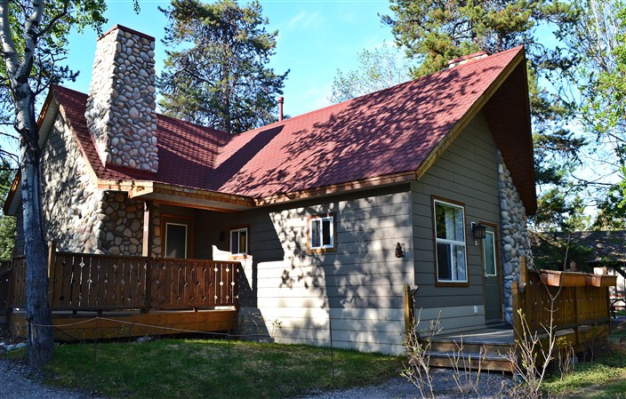 Our bungalow at Patricia Lake
