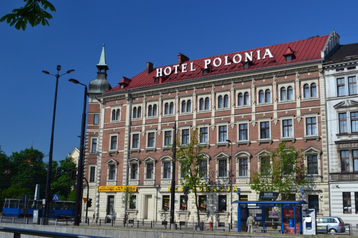 Our hotel, the Polonia, great rooms, service and food