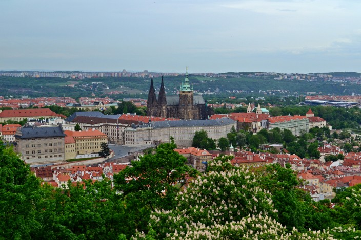 Prague Castle overview
