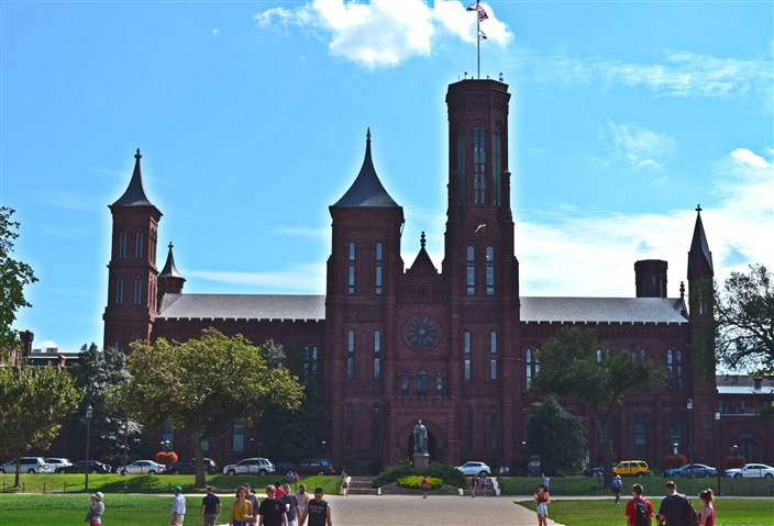 The Castle, headquarters and administration building of the Smithsonian Institution