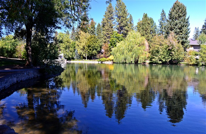 The Deschutes River in Bend