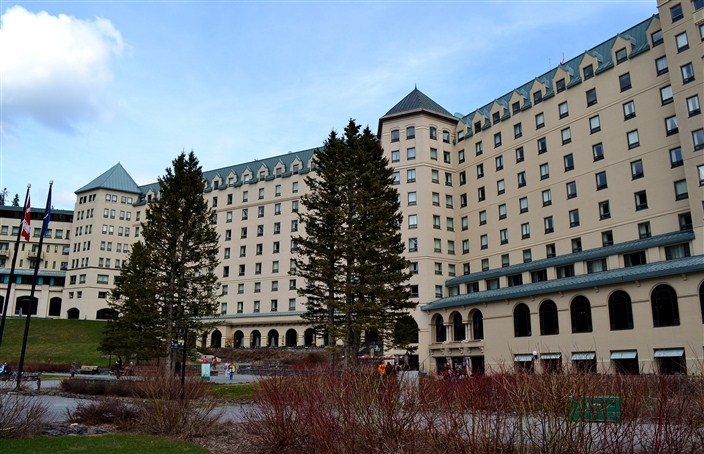 The Fairmont Chateau Lake Louise hotel