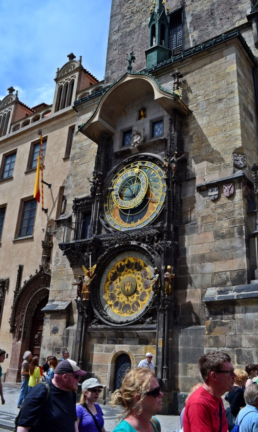 The famous Astronomical Clock
