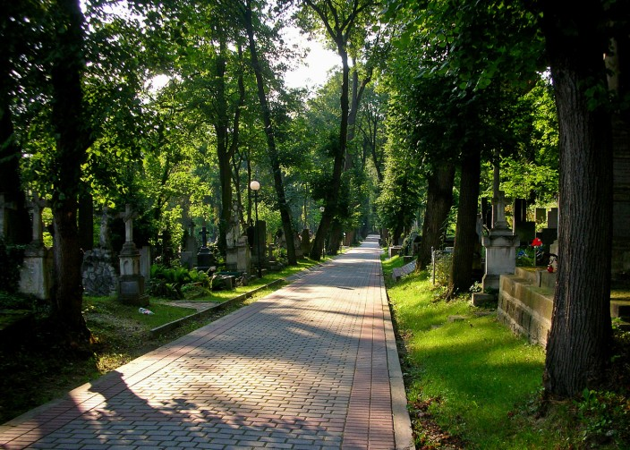The green peace of Lychakivsky Cemetery