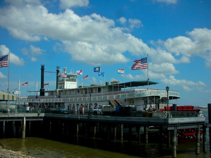 The Natchez, Mississippi riverboat, New Orleans
