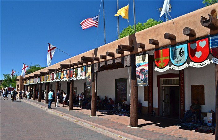 The Palace of the Governors, Santa Fe