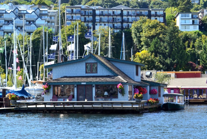 The Sleepless in Seattle houseboat