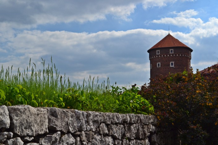 Tower and wall