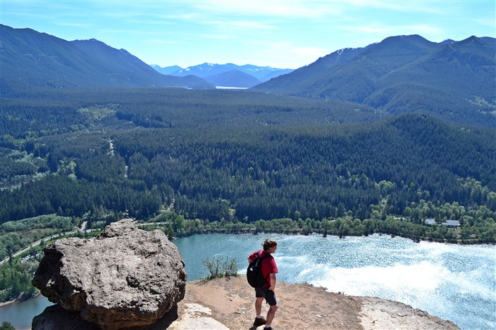 View from the top of Rattlesnake Ledge