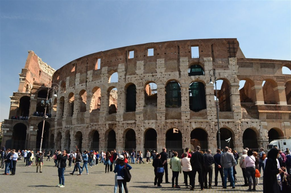 The Colosseum from a different angle